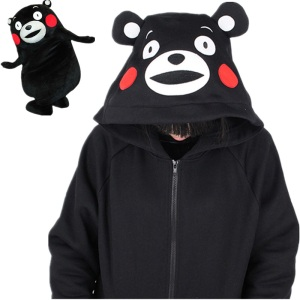 KUMAMON-Anime-Hooded-Hoodies-Bear-With-Ear-Cute-Kawaii-Clothing-Harajuku-Sweatshirt-Winter-font-b-Liz